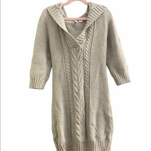 Old Navy Hooded Knitted Dress